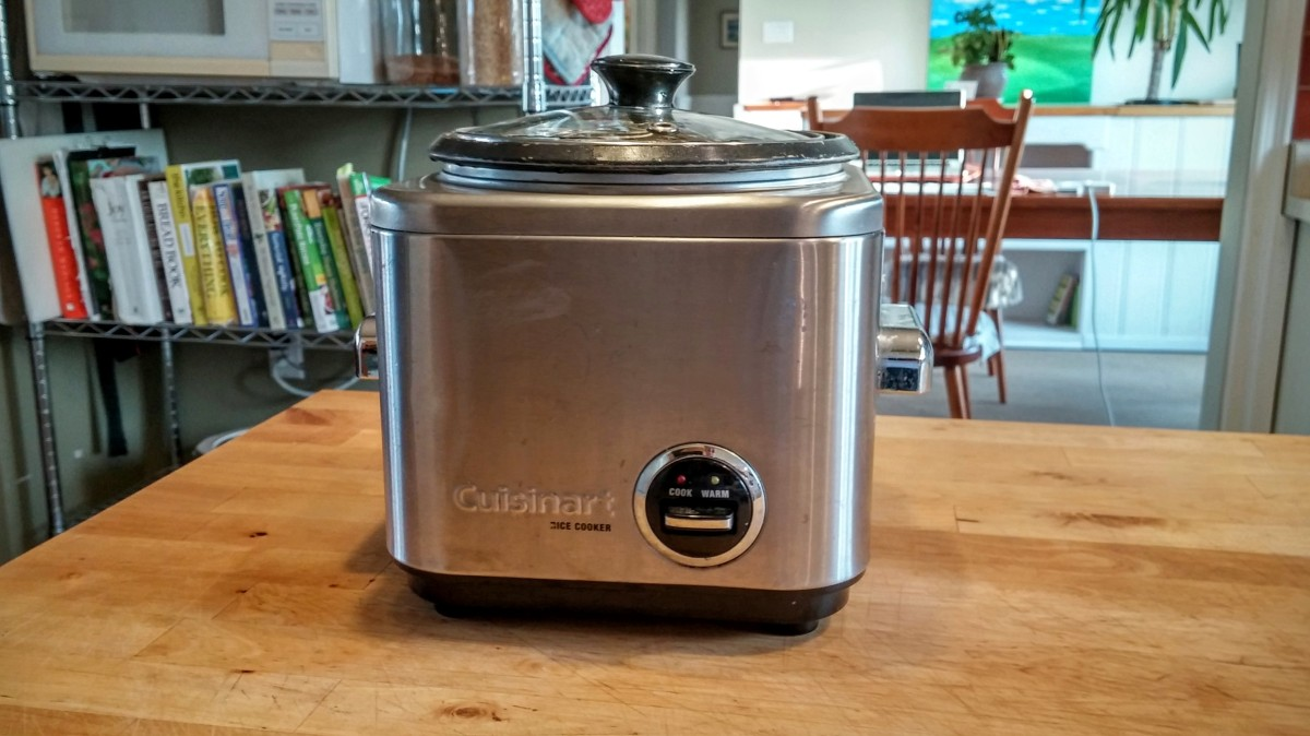 Secrets of a lazy plant-based cook: Part 1 - the rice cooker